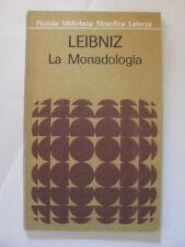 LEIBNIZ - MONADOLOGIA - EDIZIONE LATERZA