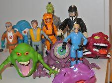 1984 figuras de acción de la fuerza + Ghostbusters Ray Peter Egon Louis Janine más delgado