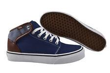 """Vans 106 mid Canvas & """" Chambray """" Estat Trainers/Shoes UCQAT6 Blue"""
