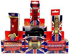 Metal London Model Bus Taxi Big Ben Post Box Telephone Tower Bridge Souvenirs UK