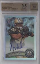 2011 Topps Chrome #50 Mark Ingram BGS 9.5 New Orleans Saints Auto Football Card