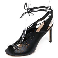 C9816 sandalo donna MICHAEL KORS THALIA SANDAL scarpa nero shoe woman