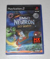 PS2 Playstation 2 JIMMY NEUTRON BOY GENIUS - ITALIANO NUOVO