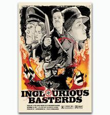 0184D Hot Inglourious Basterds Quentin Tarantino Classic-Print Art Silk Poster