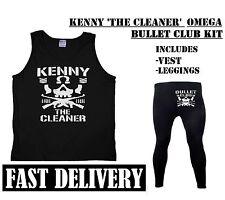 KENNY 'THE CLEANER' OMEGA BULLET CLUB NJPW FANCY DRESS SPORTS WRESTLER COSTUME