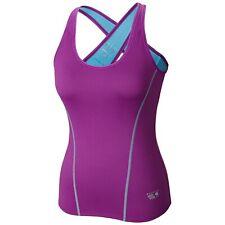 "New Womens Mountain Hardwear ""Mighty Power Cooler"" Tank Top Tee T-Shirt X-Small"