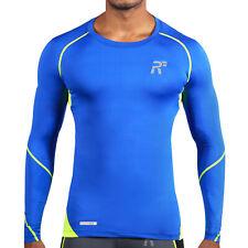 RunFlyte Men's Active Flight Long Sleeve Shirt  Athletic Running Aerobic Gym