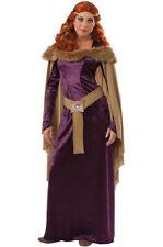 Brand New Regal Medieval Renaissance Charlotte Mane Adult Costume