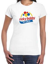 065 Ricky Bobby Pit womens T-shirt funny movie race car costume vintage retro
