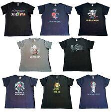 Ladies Sz XL Tee Turtle Official Marvel Chibi Mini Cute Anime Caricature T-Shirt