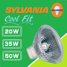 10x NEW SYLVANIA/PRO-LITE/CASELL Coolfit 20w/35w/50w Aluminium MR16 12V Halogen