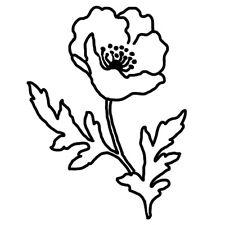 Sticker Nature Fleur 20x15 cm à 40x30 cm, Tailles et Coloris Divers (FLEUR006)