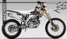 HONDA CRF250X CRF450X CRF250R CRF450R MAXCROSS GRAPHICS KIT FULL DECALS STICKERS