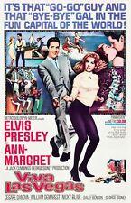 VINTAGE VIVA LAS VEGAS Elvis Presley FILM POSTER a3 stampa