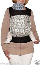 Mei Tai Tragetuch Babytragetuch Bauchtrage Babytrage passt f. Tragejacke Trage 7