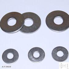 Große Unterlegscheiben DIN 9021 Edelstahl VA M2 bis M12 M14 M16  Beilagscheibe