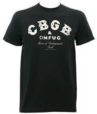 Authentic CBGB & OMFUG Distressed Logo Slim Fit T-Shirt S M L XL 2XL NEW