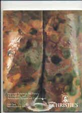 CHRISTIE'S Art Craft Stickley Ohr Grueby Van Erp Wright Auction Catalog 1990