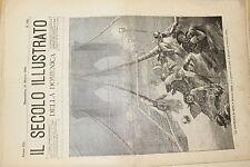 [BTR] IL SECOLO ILLUSTRATO DELLA DOMENICA 1895 285 TORMENTA DI NEVE A NEW YORK