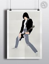 JOHNNY Ramone minimalista MUSIC POSTER posteritty minima Ramones Musica Stampa