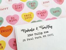 White/Brown Kraft Return Address Labels-Wedding,Engagement,Thank You Card