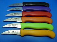 Küchenmesser Schälmesser Gemüsemesser PFS Solingen Edelstahl gebogen div. Farben