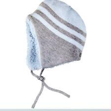 Bóboli niño gorro de invierno Azul Gris Talla 42-50