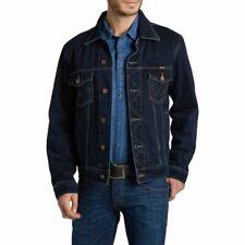 Mens Wrangler Authentic Western Denim Jacket Indigo