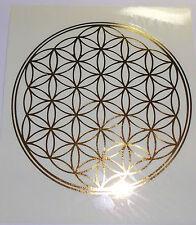 Blume des Lebens Aufkleber/Sticker Lebensblume /Flower of Life / hl. Geometrie
