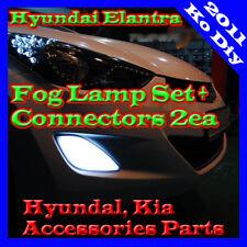 Genuine OEM Fog lamp Light Set Connectors For 2011 2012 2013 Hyundai Elantra