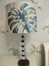 Handmade Drum Lampshade Harlequin Kelapa fabric 30cm 35cm 40cm