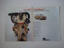 advertising Pubblicità 1971 FIAT 124 SPECIAL T