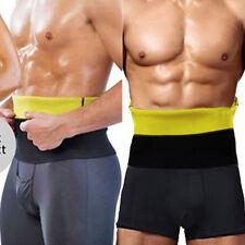 Mens Gym Sauna Sweat Suit Body Shaper Belly Tummy Trimmer Slimming Shirt Vest