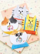 Gorogoro Cat Sticker Flakes kawaii cartoon kitty cute scrapbook planner stickers
