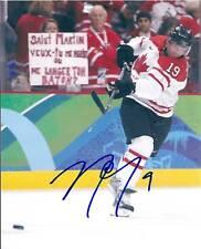 Joe THORNTON Signed 2010 Olympics 8x10 Photo CANADA