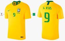 Trikot Nike Brasilien WM 2018 Home - G. Jesus 9 [164 bis XXL] Brasil