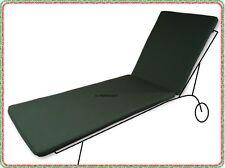 Cuscino da giardino sdraio lettino 196x50 altezza 5 cm in Tessuto DRALON® resist
