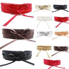 Moda Ancho Cinturón Cadena Cintura Cinturones Piel Suave Para Mujeres
