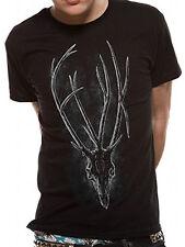 Oficial Fearless Vampire Killers-ANTLER-Para Hombre Camiseta Negra