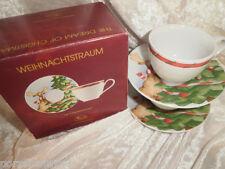 Set   2  Espressotassen    Weihnachtstraum   Hutschenreuther Neu  OVP