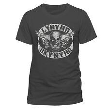 Lynyrd Skynyrd Rock Logo Ronnie Van Zant erkend T-shirt voor mannen