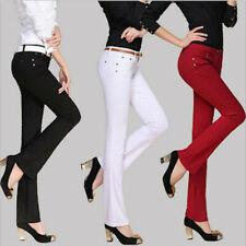 AU SELLER Vintage Flared Jeans Skinny Denim Trousers Stretch Slim pants p065