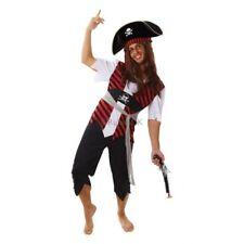 Rubies Fancy Dress Costume Caribbean Pirate Mens Sizes L & XL