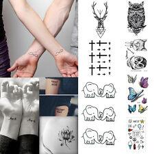 32 Styles Sexy Removable Sleeve Waterproof Temporary Tattoo Body Art Sticker BH