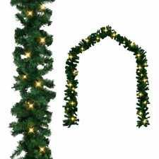 vidaXL Weihnachtsgirlande LED Lichterkette Tannengirlande Girlande 5/10/20m