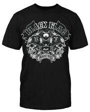 Black Flag Industries T-Shirt Biker Shirt Motorrad Bike Totenkopf neu
