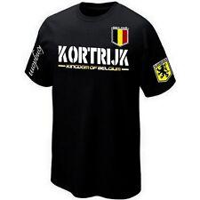 T-Shirt KORTRIJK VLAANDEREN FLANDRE BELGIË BELGIUM ultras- Maillot Belgique