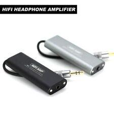 3.5mm Hifi Headphone Amplifier Aux Stereo Amp Earphone Amplifier Fits Smartphone