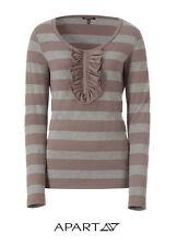 Ringelshirt, Shirt APART. Grau melange. NEU!!! KP 54,90 € SALE %%%