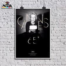 POSTER LOCANDINA 65° FESTIVAL DE CANNES 16-27 MAI 2012 FILM ARREDAMENTO QUALITY